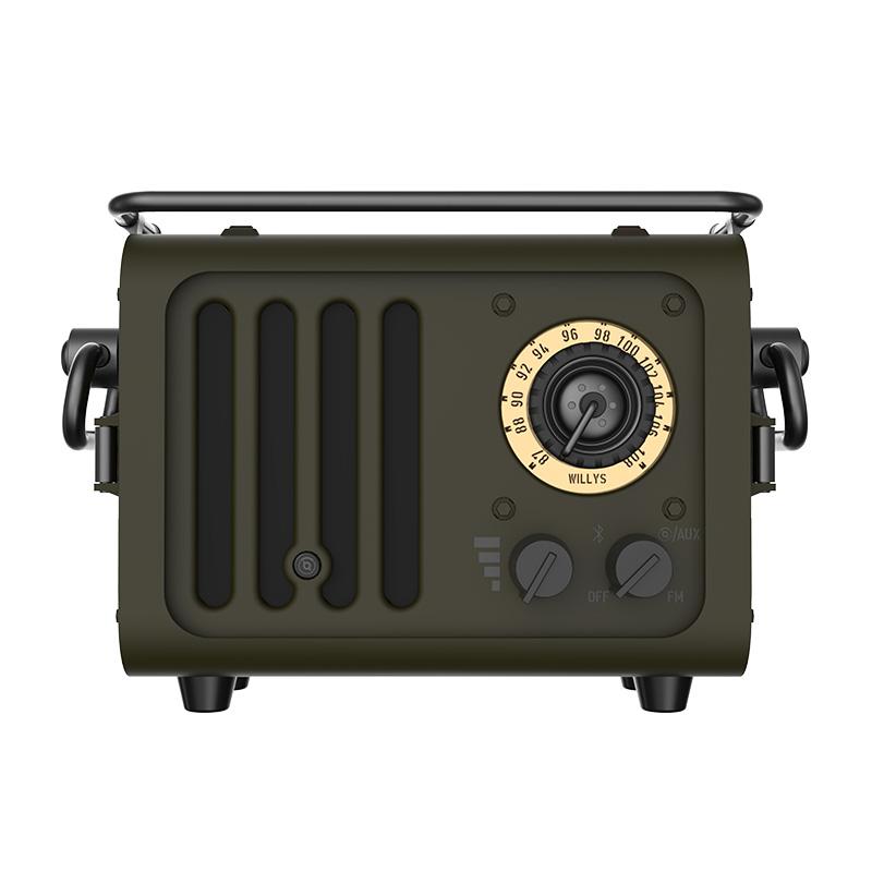 猫王收音机 WD101GN radiooo野性吉普风便携式蓝牙音响