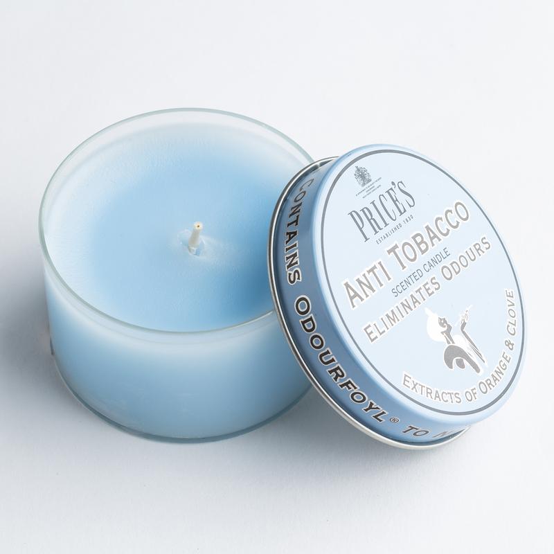 英国Price's香薰蜡烛空气香氛丁香柑橘香味