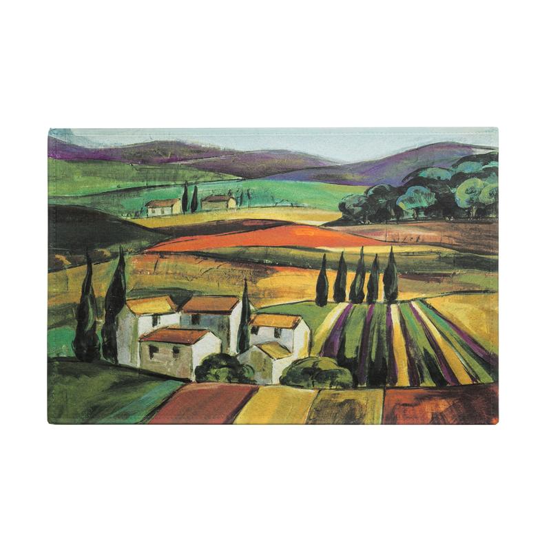 德国原产AKZENTE Gallery系列地毯脚垫门厅垫 薰衣草田