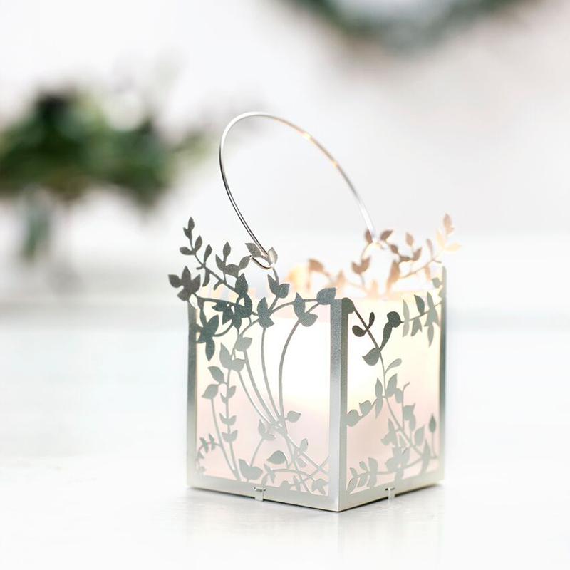 丹麦原产Jette Frolich镀银烛台餐烛架摆件装饰 枝条