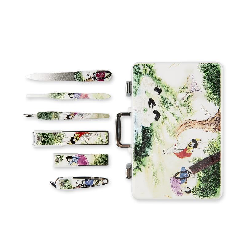 韩国原产BELL纳米银指甲刀修护套装指甲钳工具6件套