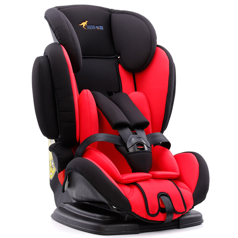 汽车儿童安全座椅9个月-12岁儿童贝贝卡西LB-361(颜色随机发货)