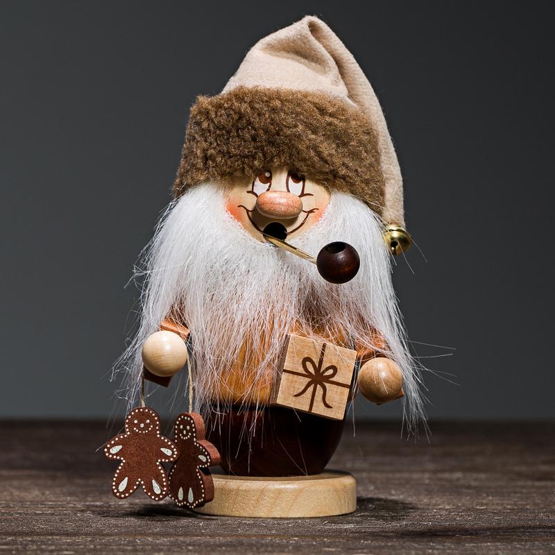 德国原产Christian Ulbricht木质手工艺香薰木偶圣诞老人