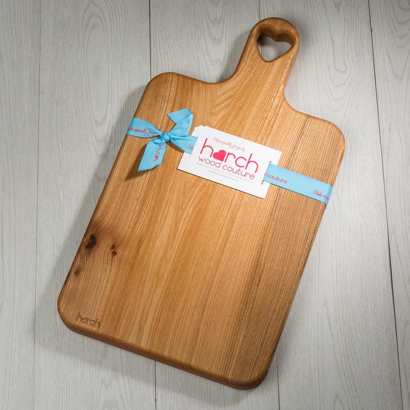 英国原产harch榆木手工实木菜板砧板案板船桨形大码