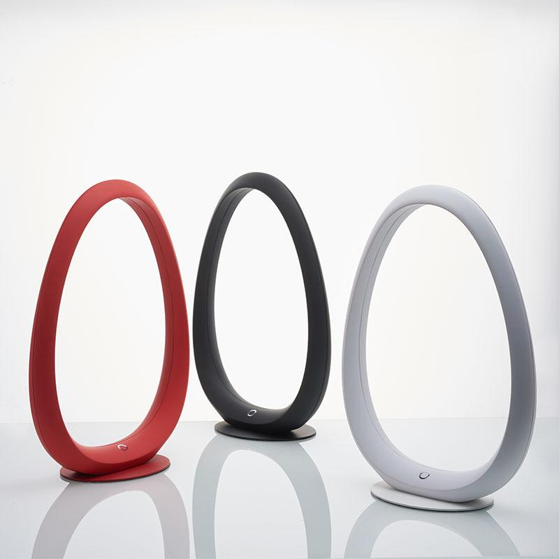【网易严选】网易智造星云环形床头灯-米白色/丹红色/幻黑色