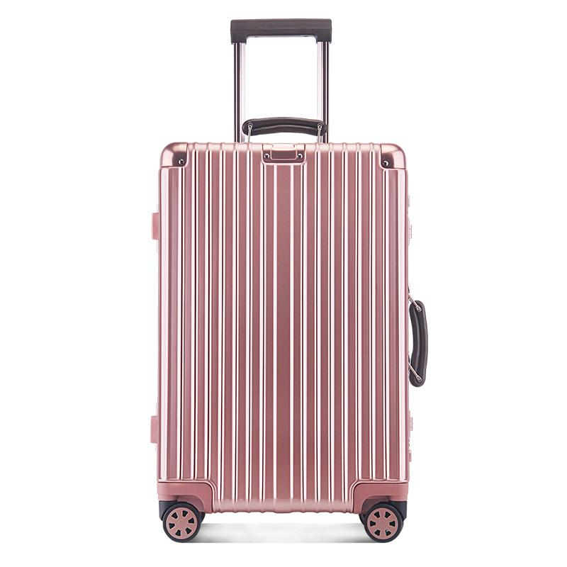 OSDY 8174 20寸万向轮拉杆箱 海关密码锁旅行箱托运箱行李箱子【颜色随机】
