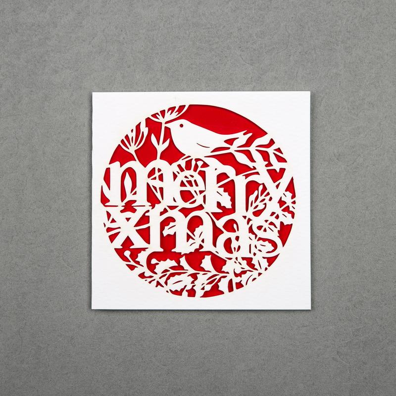 英国原产Chau Art小圣诞 主题贺卡明信片创意贺卡