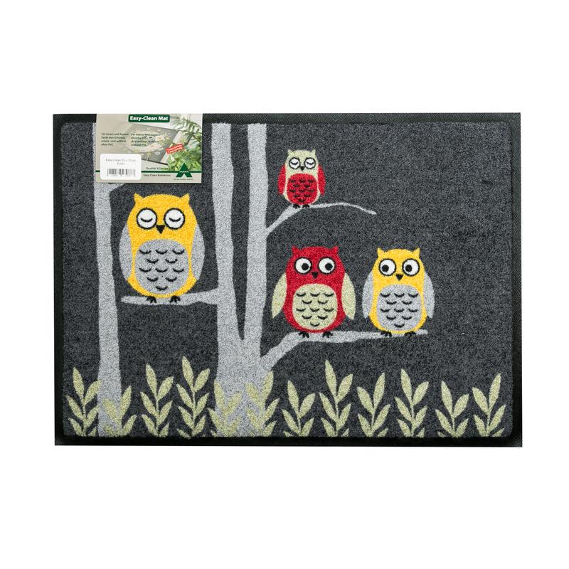 德国原产AKZENTE Easy Clean系列地毯猫头鹰
