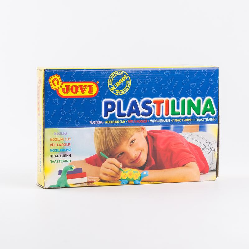 西班牙原产JOVI超轻建模粘土彩色橡皮泥 30块/盒 50g