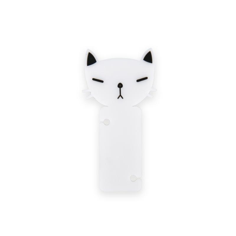 韩国原产CHERRYCAT个性时尚耳机绕线器理线器黑色耳朵猫咪