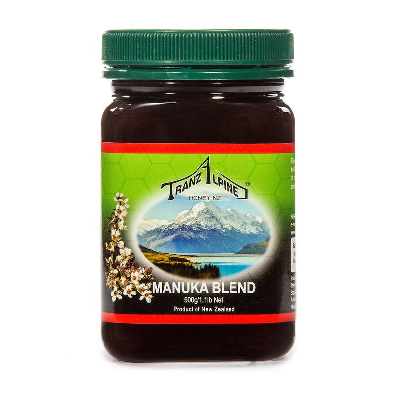新西兰原产TRANZALPINE麦卢卡混合蜜MGO50+500g养胃养颜
