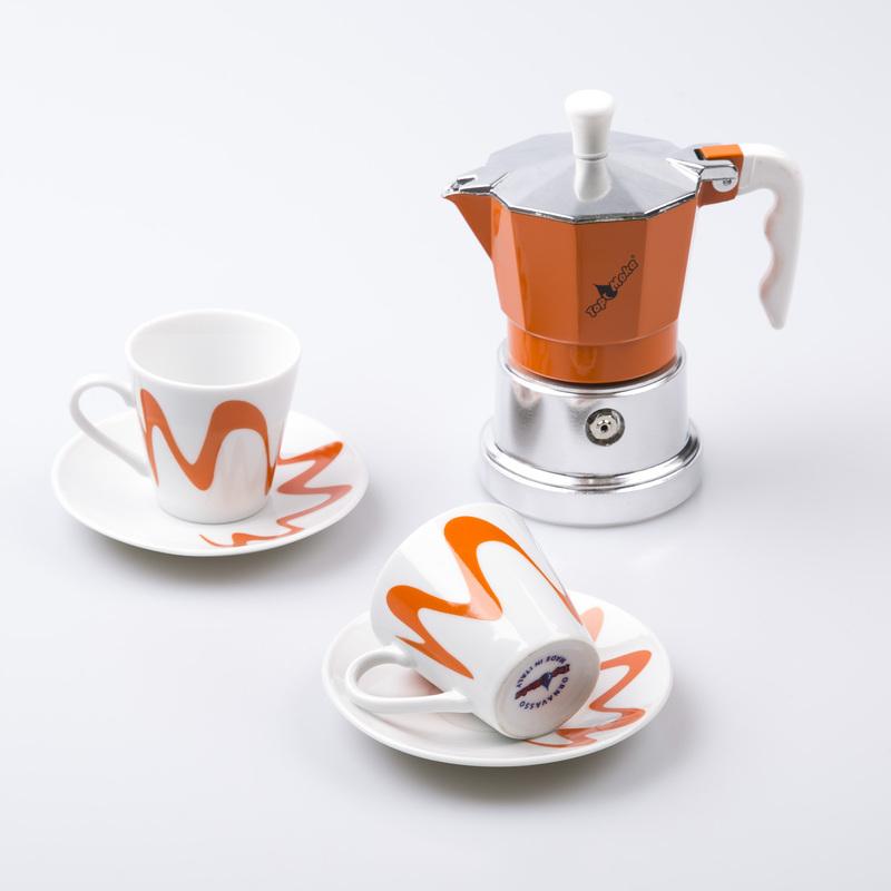 意大利原产Top Moka红心皇后摩卡壶咖啡壶2杯版