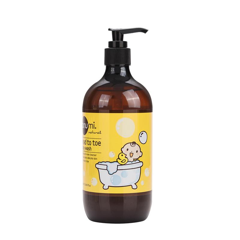 澳尤蜜anumi婴儿二合一滋润洗发沐浴露