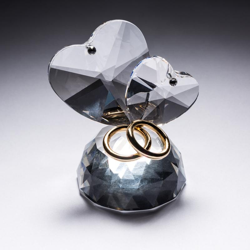 意大利原产Ranoldi水晶摆件