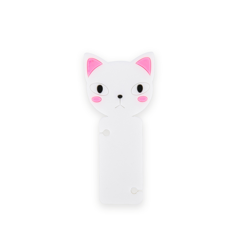 韩国原产CHERRYCAT个性时尚耳机绕线器理线器粉色耳朵猫咪
