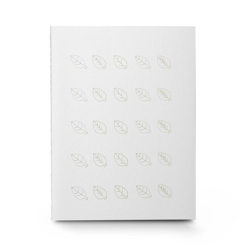 韩国原产JIGOONAMOO 光与盐 环保纸笔记本日记本叶子封面
