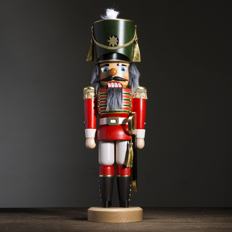 德国原产Christian Ulbricht木质手工摆件士兵胡桃夹子