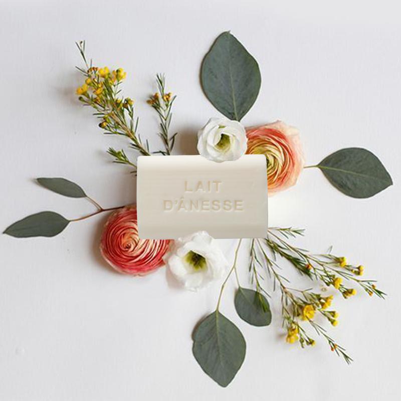 法国原产FOUFOUR驴奶植物精油手工皂马赛皂沐浴皂洗脸皂