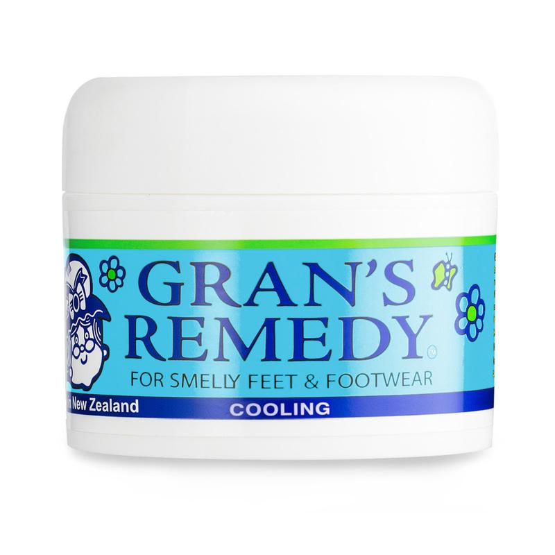 新西兰原产GRAN'S REMEDY 植物鞋粉除臭粉除味粉