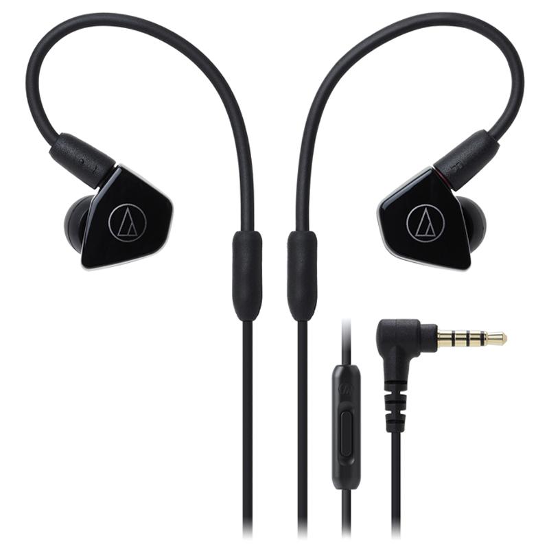 Audio Technica/铁三角 ATH-LS50is 双动圈手机带线控入耳式耳机(颜色随机发货)
