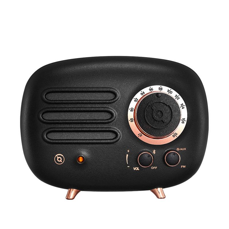 猫王收音机FY101BK猫王radiooo铸造黑无线蓝牙音箱