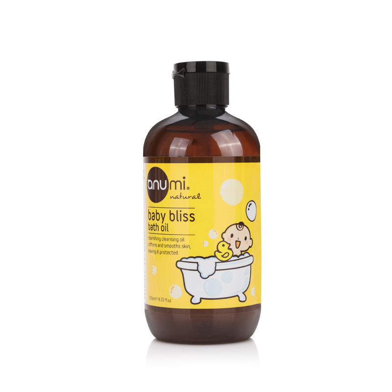澳尤蜜anumi婴儿润肤沐浴油