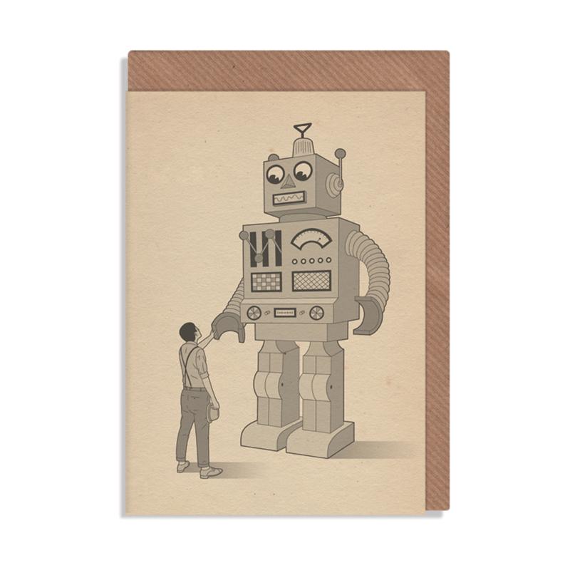英国原产ROBBIE PORTER创意明信片礼物贺卡第一天