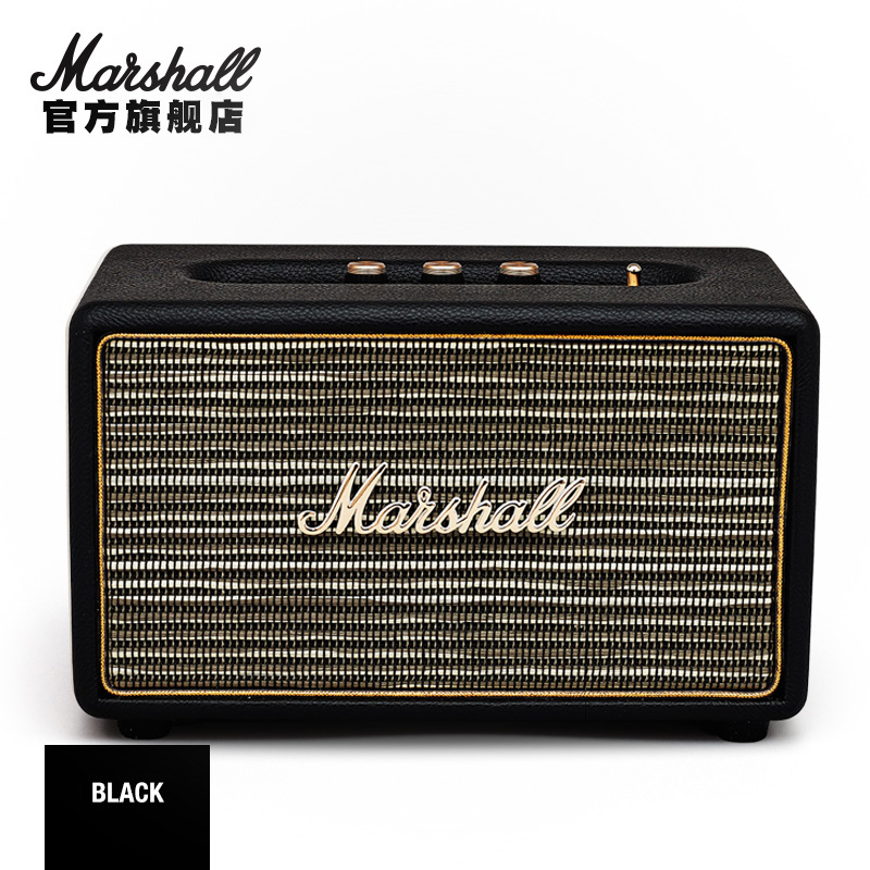 MARSHALL ACTON BLUETOOTH 马歇尔摇滚重低音HiFi无线蓝牙音箱(颜色随机发货)