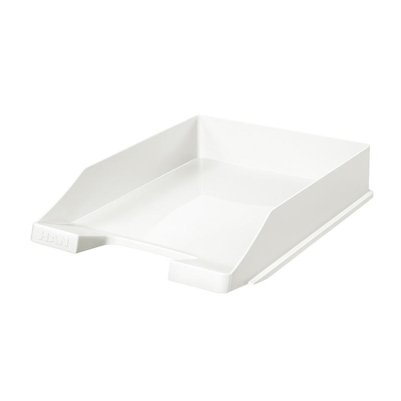 德国原产HAN环保可叠加便抽取式办公用品文件收纳盒资料盒/盘