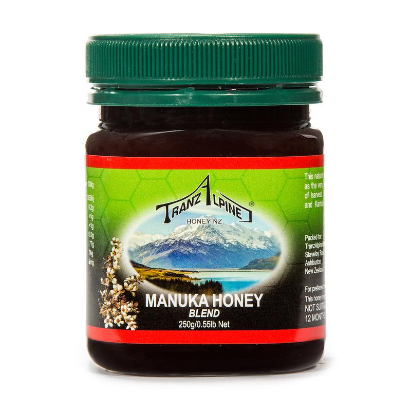 新西兰原产TRANZALPINE麦卢卡混合蜜MGO50+250g养胃养颜