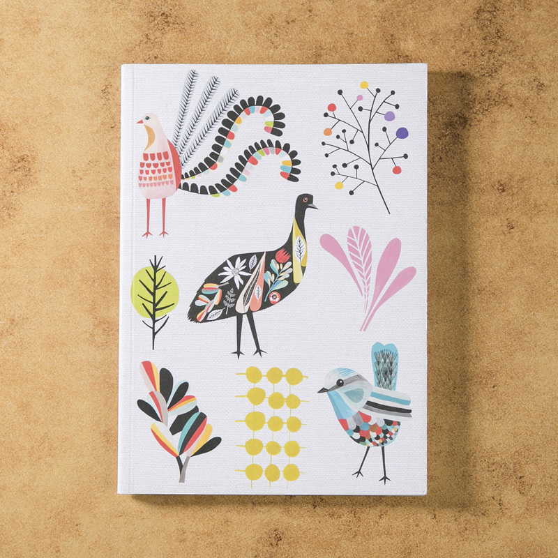 新西兰原产Tikitibu 花园派对 笔记本日记本记事本
