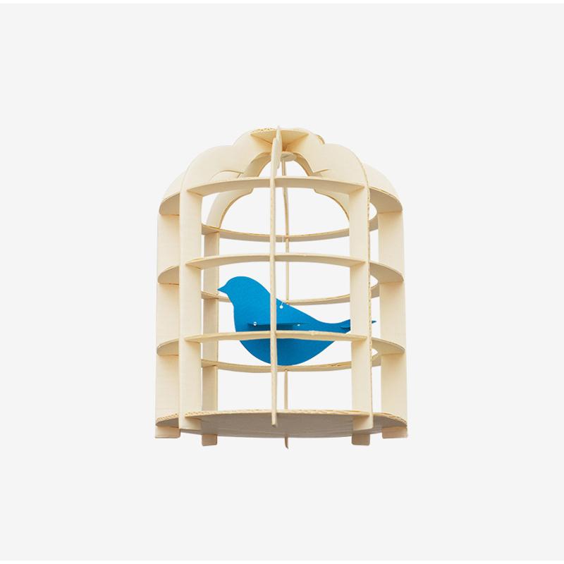 韩国原产TUNAPAPER创意纸质挂饰挂件门饰鸟笼