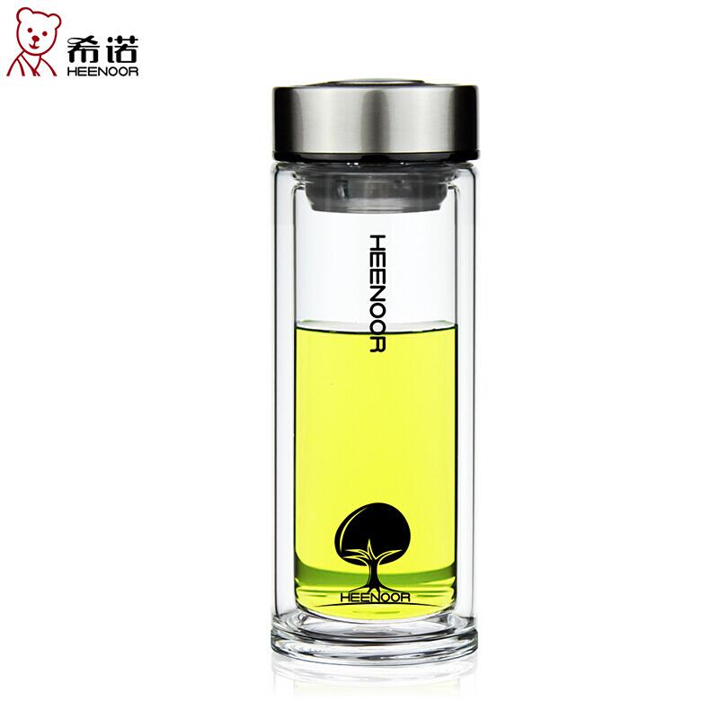 希诺办公玻璃杯(本色)XN-6702