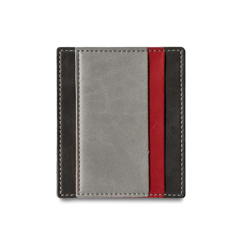 意大利原产Reflexa简约维耶勒法兰绒钱包钱夹短款8*9.5cm