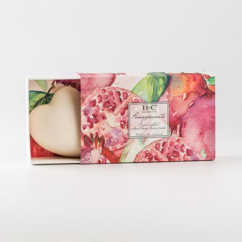 新西兰原产BANKS&CO植物精油手工皂洁面沐浴香皂心形系列