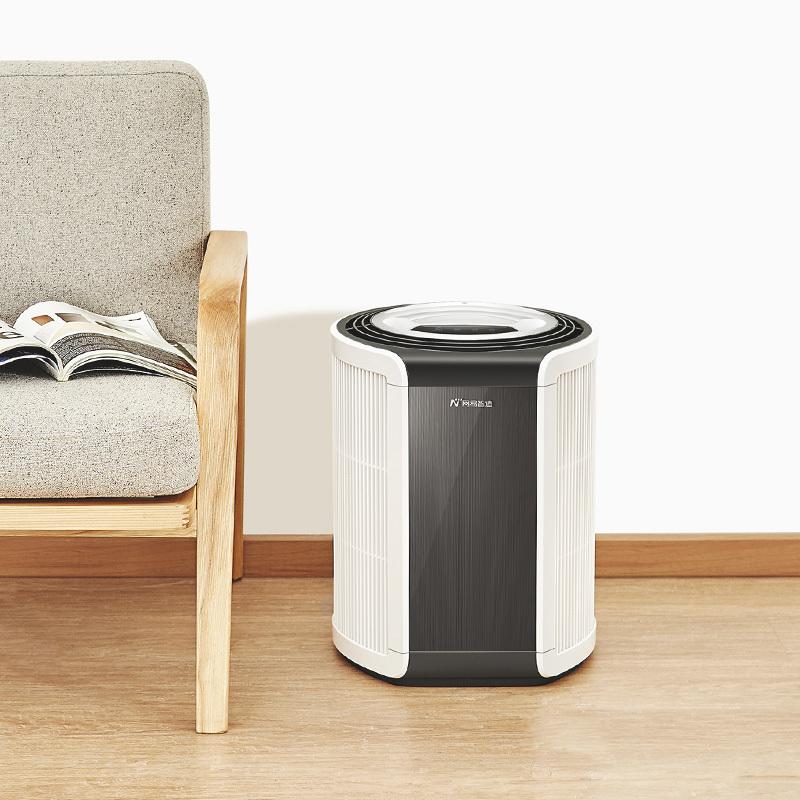 网易智造全方位空气净化器-空气净化器(清新白)