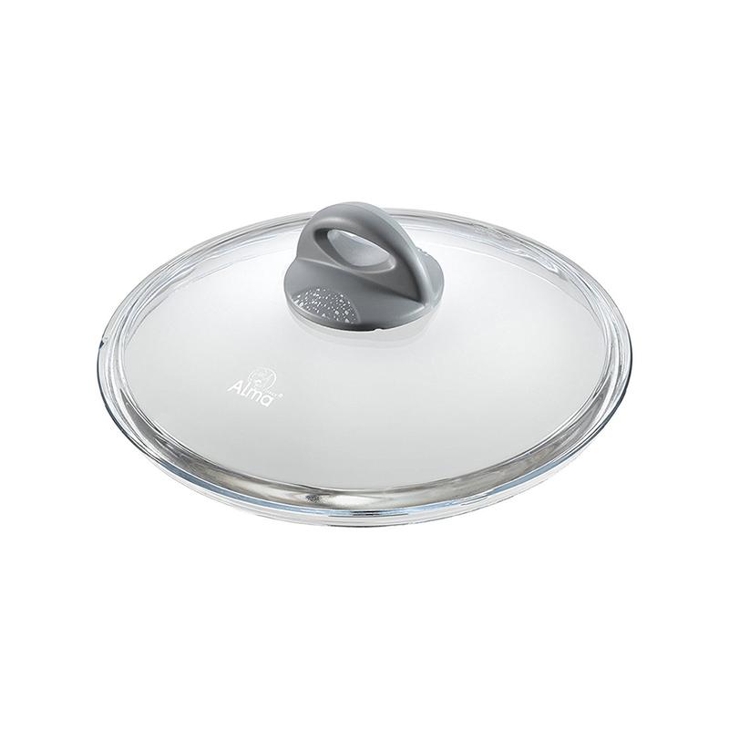 意大利原产ALMA伊特拉斯坎系列玻璃锅盖炒锅盖锅盖蒸锅盖