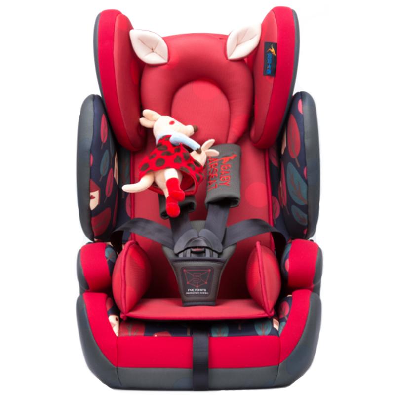 汽车儿童安全座椅(飞龙伯爵)0-4-7-12岁贝贝卡西LB-509