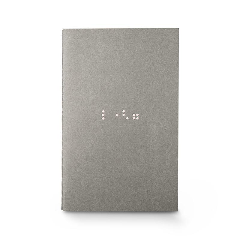 韩国原产JIGOONAMOO环保纸另一种语言笔记日记本盲文爱情