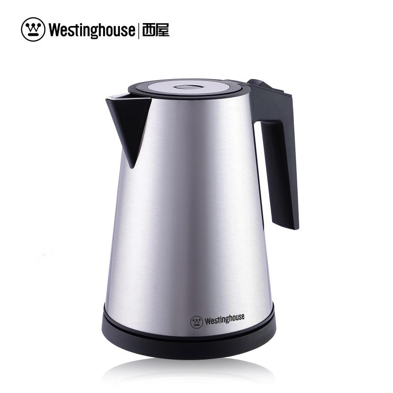 美国西屋(Westinghouse) 电热水壶  双层防烫 1.5L WEK-1201