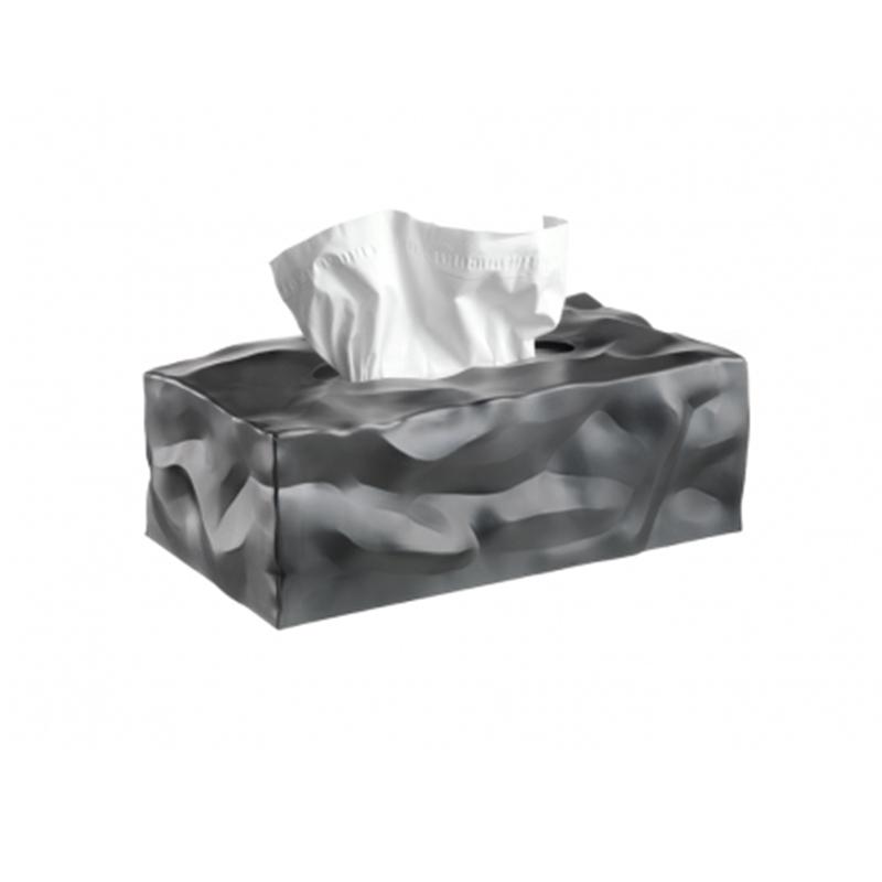 丹麦原产essey Wipy II创意褶皱纸巾盒抽纸盒 无底座