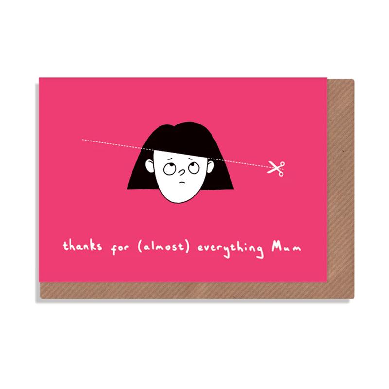 英国原产ROBBIE PORTER创意明信片礼物贺卡感谢妈妈女孩