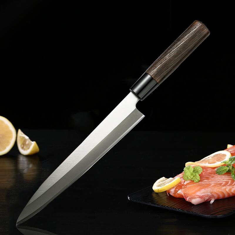 日本原产Tojiro藤次郎V银钢燕三条柳刃厨刀刺身刀F-382