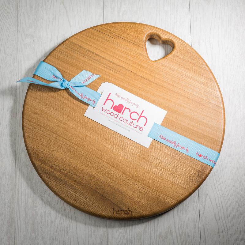 英国原产harch榆木手工实木菜板砧板案板圆鼓形