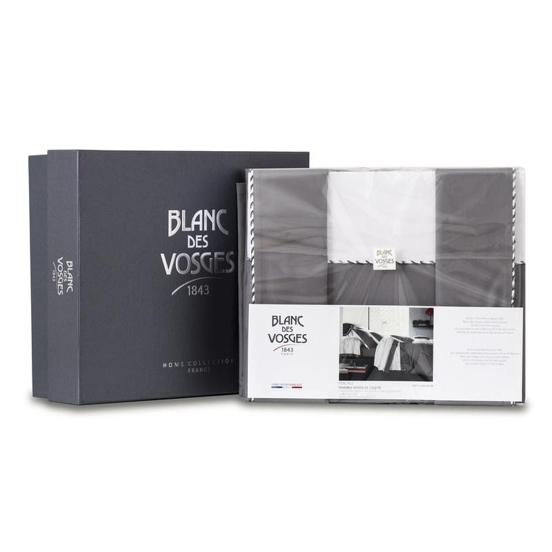 法国原产BLANC DES VOSGES密织全棉四件套(礼盒装)
