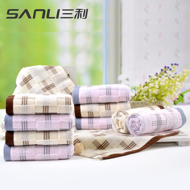 三利风尚面巾2条礼盒装毛巾