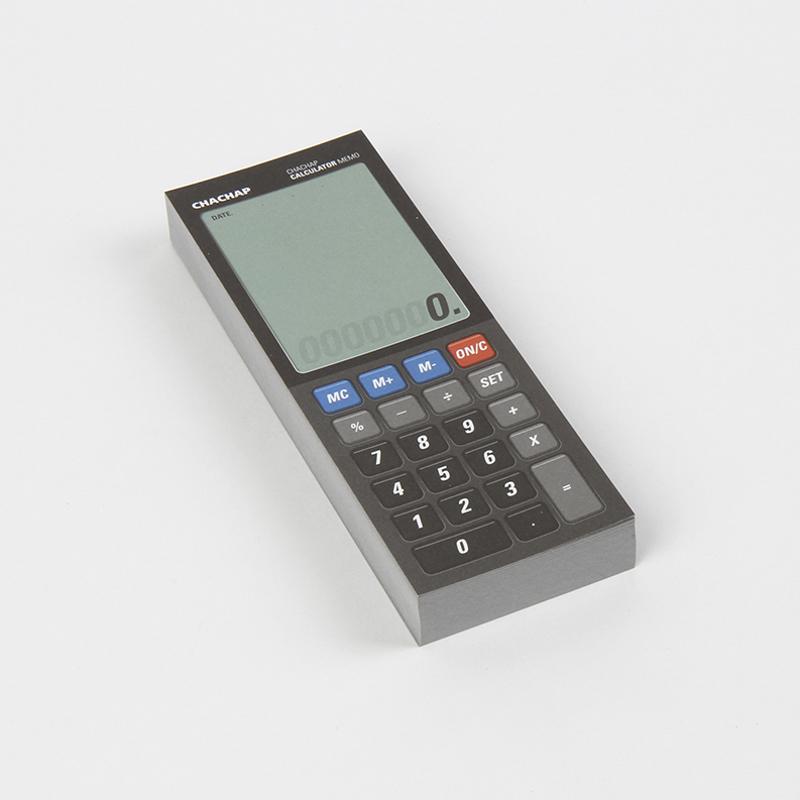 韩国原产Chachap 计算器形 创意便利贴