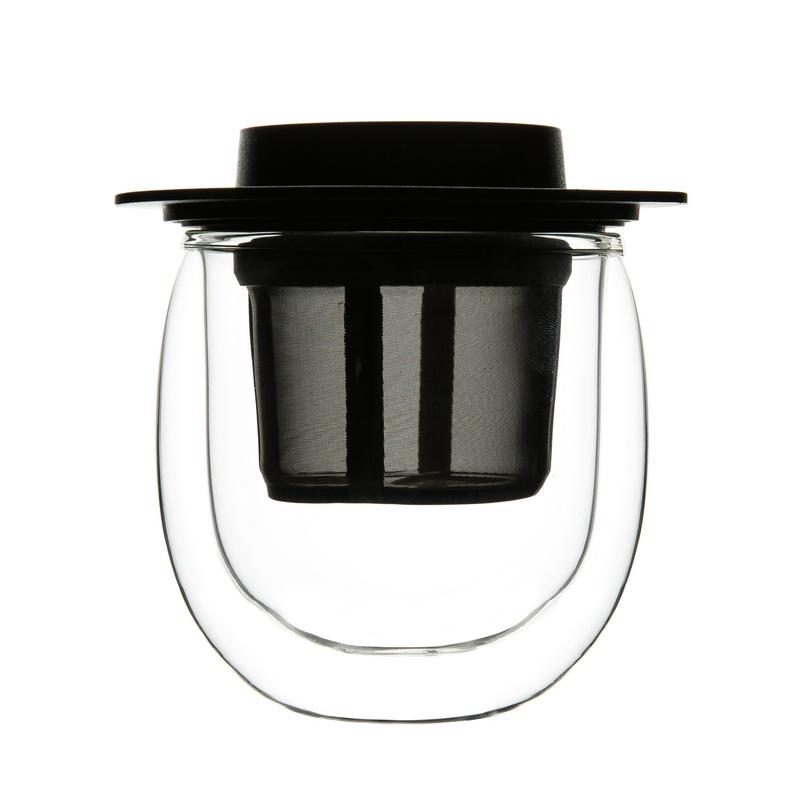 德国原产finum芬伦双层玻璃茶杯茶具茶壶200ml