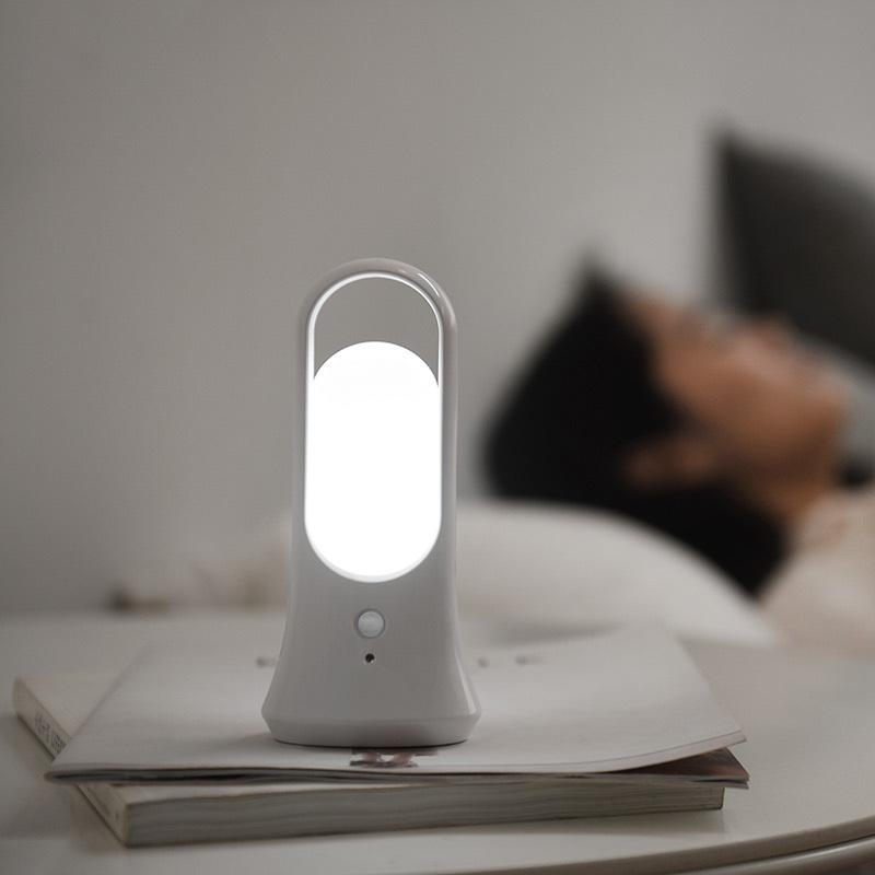 LED光控体感智能小夜灯 手电筒-USB充电