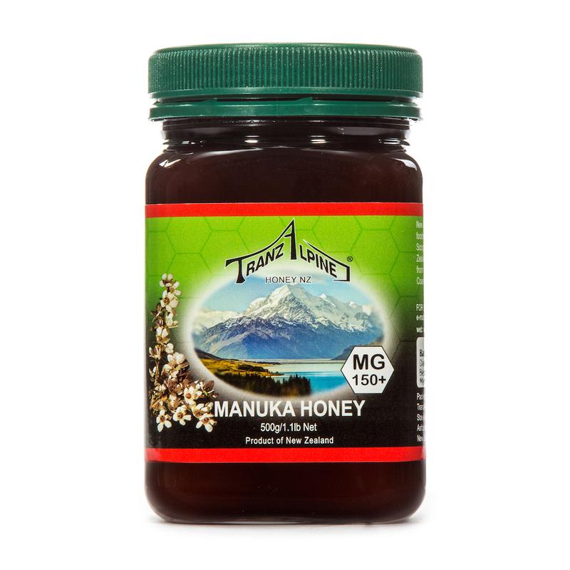 新西兰原产TRANZALPINE麦卢卡蜂蜜MGO150+UMF7+500g